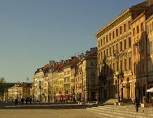 WARSAW - Krakowskie Przedmiescie street (by Arkadiusz Parulski)