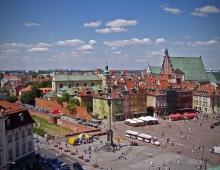 WARSAW - Old Town (by Arkadiusz Parulski)