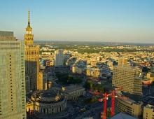 WARSAW - Palace of Culture and Science (by Arkadiusz Parulski)