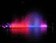 WROCLAW - night fountain show (by Adam Biernat)