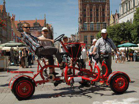 7-seater bike sightseeing tour