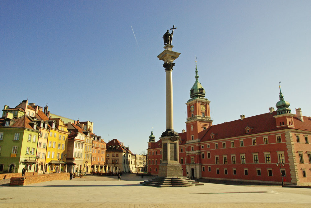 Classical Sightseeing tour of Warsaw
